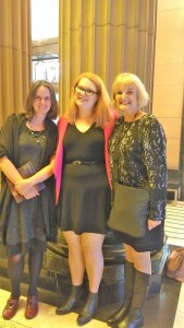 Talented author and gorgeous person, Meg McKinlay, Walker Publicist and all round guru, Claire Smith and me.