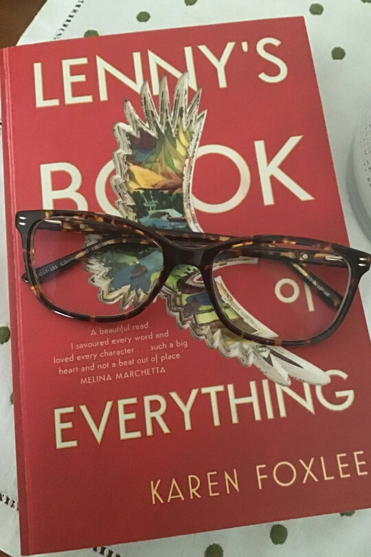 Lenny's book of everything review by Sue Lawson